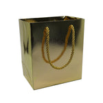 Medium Gift Bag-Gold - Amber Packaging