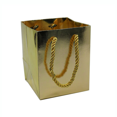 Small Gift Bag-Gold - Amber Packaging