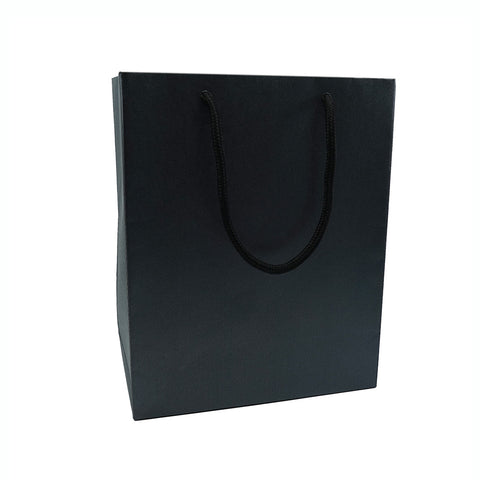 Large Gift Bag-Black - Amber Packaging