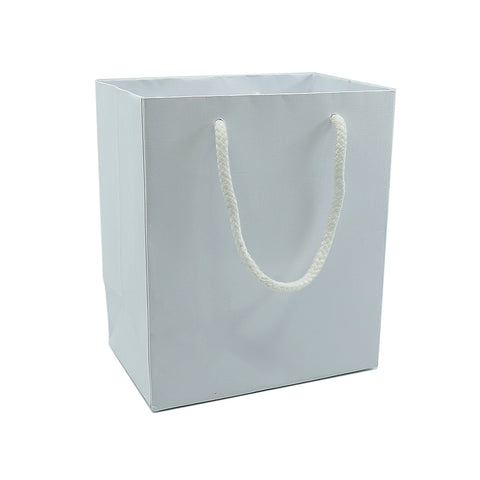Medium Gift Bag-White - Amber Packaging
