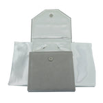 Pearl Folder, Soft Suede & Satin - Amber Packaging