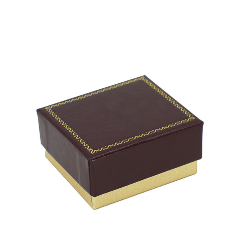 Stud Earring Box 2 PC, Large, Persian Collection - Amber Packaging