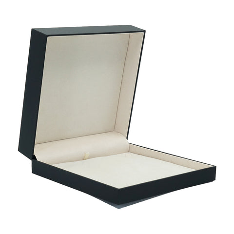 Necklace Box w/ Rigid Sleeve, Serene Collection - Amber Packaging