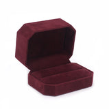 Double Ring Box Octagon, Charisma Collection - Amber Packaging