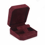 Drop Earring Box Octagon, Charisma Collection - Amber Packaging