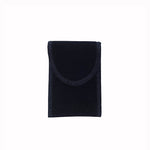 Small Rectangle Suede Pouch - Amber Packaging