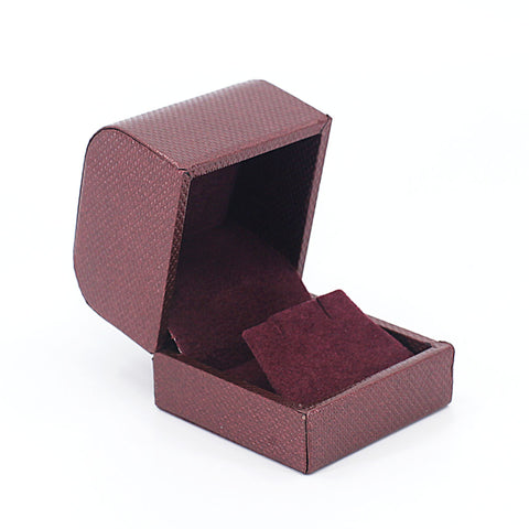 Earring Box Metallic Textured, Galaxy Collection - Amber Packaging