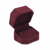 Earring Box Octagon, Charisma Collection - Amber Packaging