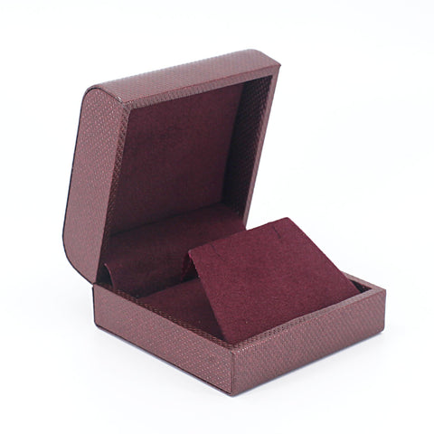 Pendant/Earring Box Metallic Textured, Galaxy Collection - Amber Packaging