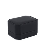 Double Ring Box Octagon, Classic Collection - Amber Packaging