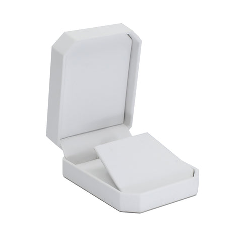 Pendant/Earring Box Octagon, Classic Collection - Amber Packaging