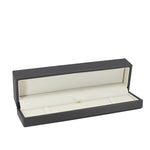 Bracelet Box Luxury Leatherette Stitched Frame, Destiny Collection - Amber Packaging