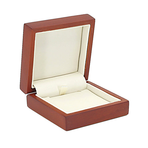 Pendant Box Domed Wood, Small, Scarlett Collection - Amber Packaging