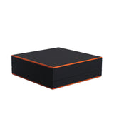Necklace Box w/ Color Trim, Supernova Collection - Amber Packaging