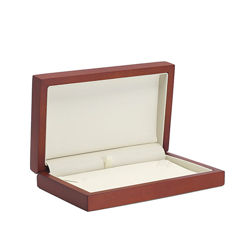 Necklace Box Wood, Natural Collection - Amber Packaging