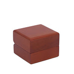 Single Ring Box Wood, Natural Collection - Amber Packaging