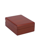 Drop Earring Box Wood, Natural Collection - Amber Packaging