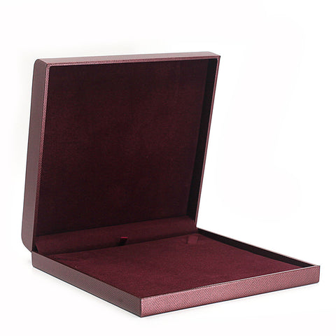 Necklace Box Metallic Textured, Galaxy Collection - Amber Packaging