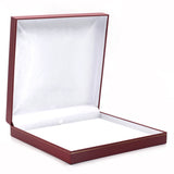 Necklace Box Sharp Corner w/ Gold Trim, Prime Collection - Amber Packaging