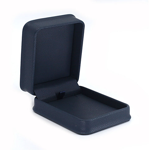 Pendant Box Leatherette, Midnight Collection - Amber Packaging