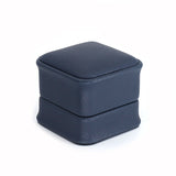 Earring Box Leatherette, Midnight Collection - Amber Packaging