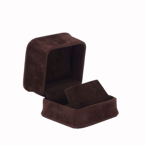 Earring Box Velveteen, Plush Collection - Amber Packaging