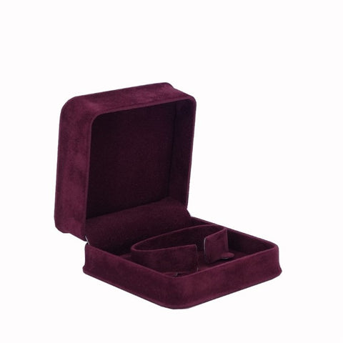 Bangle Box Velveteen, Plush Collection - Amber Packaging
