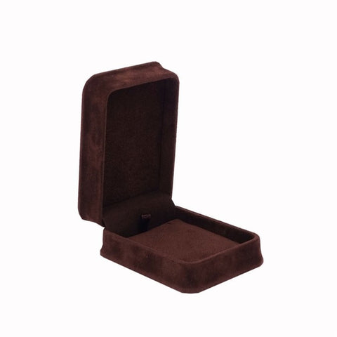 Pendant Box Velveteen, Plush Collection - Amber Packaging
