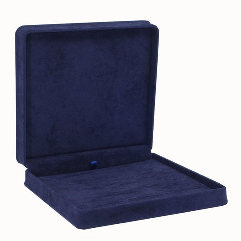 Necklace Box Velveteen, Plush Collection - Amber Packaging