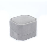 Single Ring Box Octagon, Charisma Collection - Amber Packaging