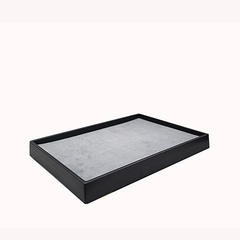 Large Storage Tray w/ 54 Slot Ring Pad - Amber Packaging