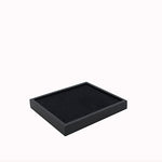 Small Storage Tray w/ 36 Slot Ring Pad - Amber Packaging
