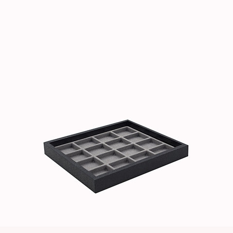 Small Storage Tray w/ 16 Slot Utility Pad - Amber Packaging