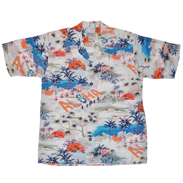 Avanti Hawaiian Shirt - Aloha - White