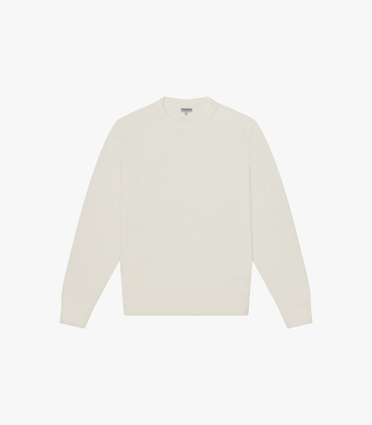 Knickerbocker Standard Crew Fleece - Milk