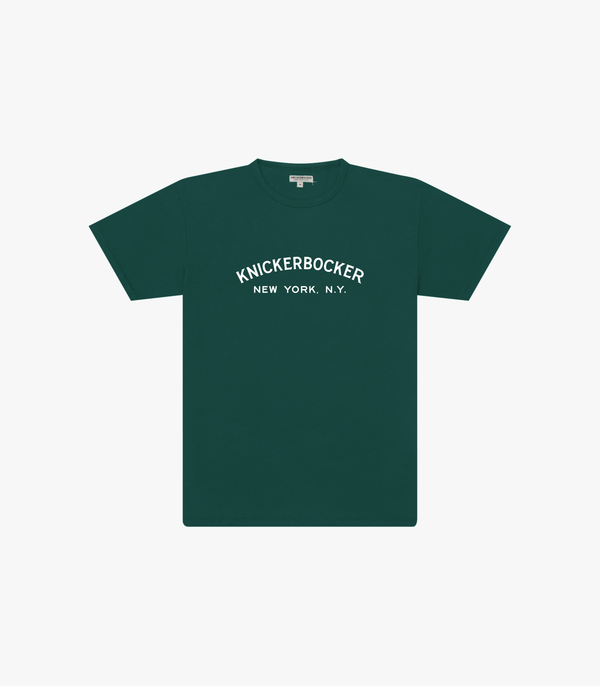 Knickerbocker Core Logo T Shirt - Knickerbocker Green