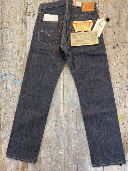 LEVIS 1947 501 RAW SHRINK TO FIT