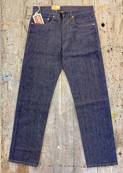 LEVIS 1976 501 RAW SHRINK TO FIT