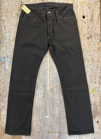 Sugarcane Type 470 Black Selvedge Denim Jean