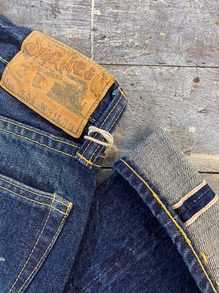 Sugarcane One Star 5 Year Aged Selvedge Denim Jean