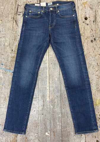 Edwin ED 80 Slim Tapered Contrast Clean Wash