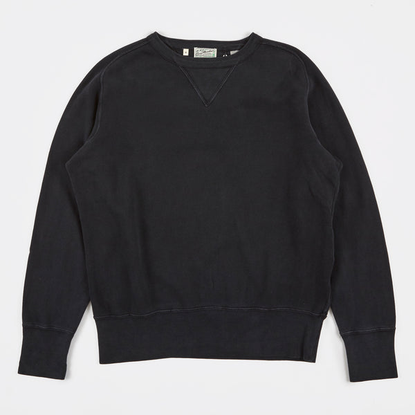 Levis Bay Meadows Sweatshirt - Faded Black, Oatmeal and Tumbleweed Green