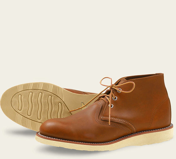 Red Wing Classic Chukka Brown
