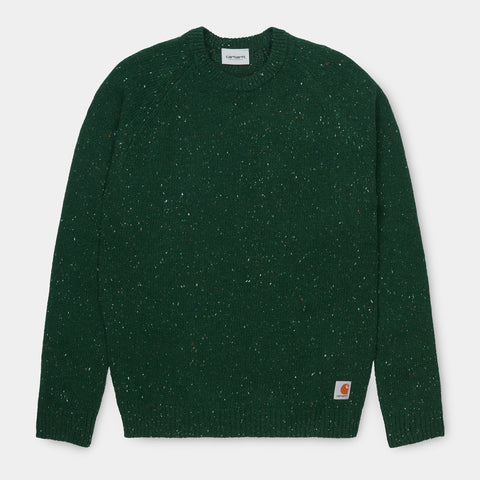 Carhartt Angelistic Sweater - Bottle Green Heather
