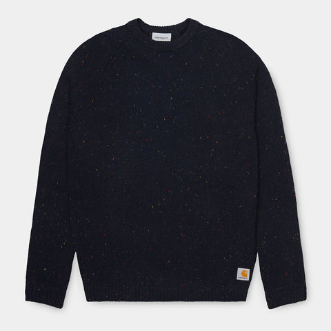 Carhartt Angelistic Sweater - Dark Navy Heather