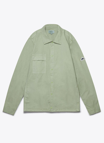 Penfield Blackstone Garment Dye Overshirt _ Dusty Green