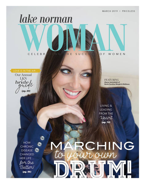 Alyssa Jastrzebski Lake Norman Woman Cover