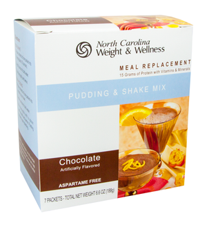 Chocolate Pudding & Shake - Meal Replacement