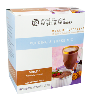 Mocha Pudding & Shake - Meal Replacement