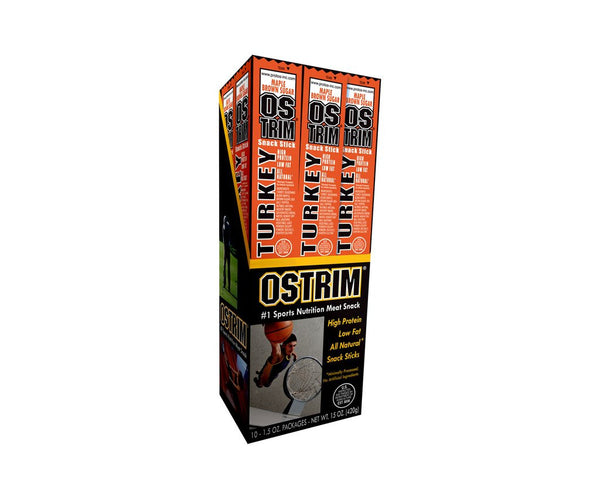 Ostrim Turkey Maple Brown Sugar Protein Sticks